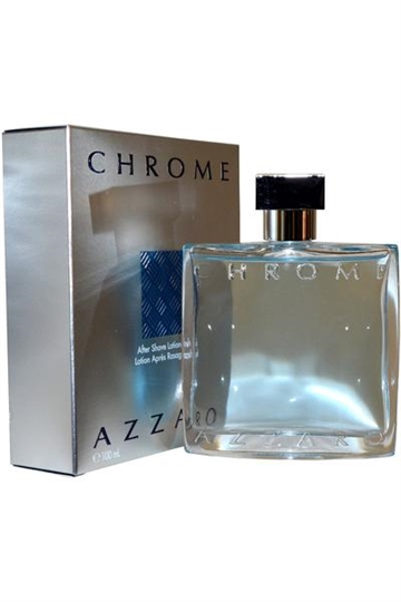 Azzaro Chrome After Shave Lotion Splash 100 ml