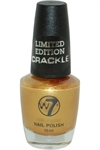 W7 - Limited Edition Crackle - Nail Polish 15 ml Gold