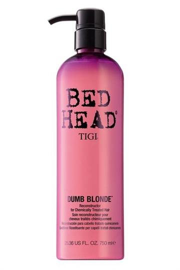 Tigi Bedhead Dumb Blonde Reconstructor 750ml Chemically Treated Hair