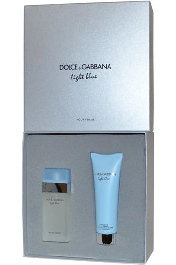 Dolce & Gabbana Light Blue EdT 25ml & Refreshing Body Cream 50ml