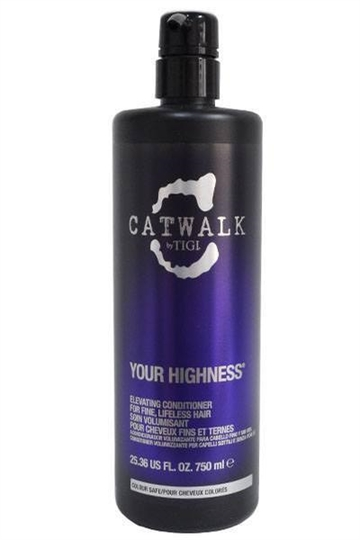 Tigi Catwalk Your Highness Elevating Conditioner 750ml for Fine/Lifeless Hair