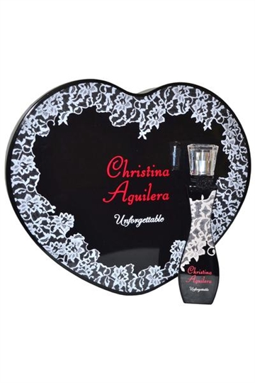 Christina Aguilera Unforgettable EdP 30ml in Heart Shaped Box