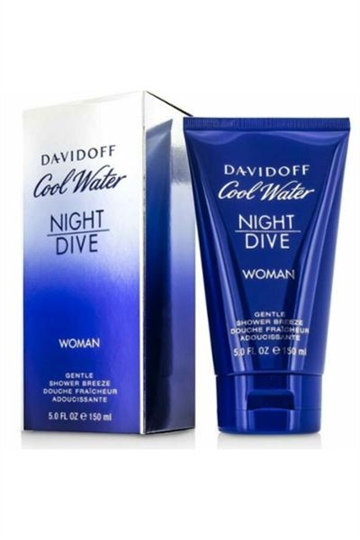 Davidoff Cool Water Night Dive Woman Gentle Shower Breeze Shower Gel 150ml