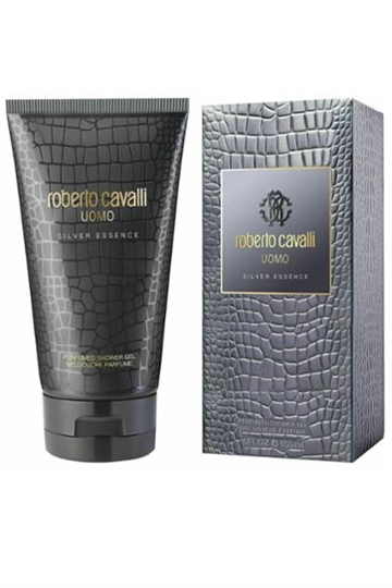 Roberto Cavalli Uomo Perfumed Shower Gel 150ml Silver Essence