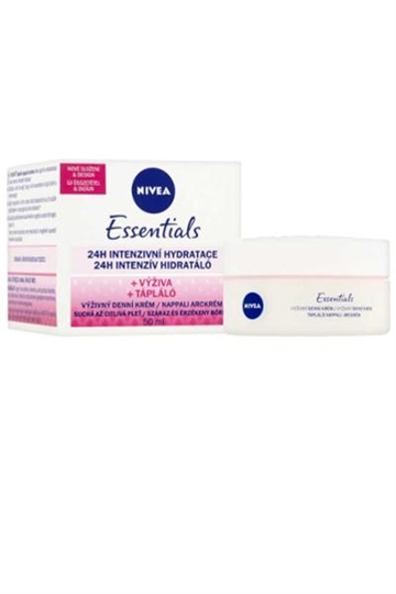 Nivea Nivea Essentials Day Cream 24h Intensive Hydration 50ml Pot