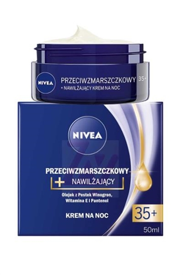 Nivea Anti Wrinkle Moisture 35+ by Nivea Night Cream 50ml
