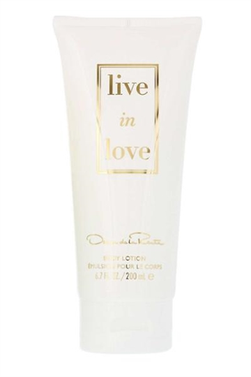 Oscar de la Renta Live in Love Body Lotion 200ml