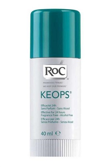 RoC Keops Deodorant Stick 40ml Efficacy Skin Respect