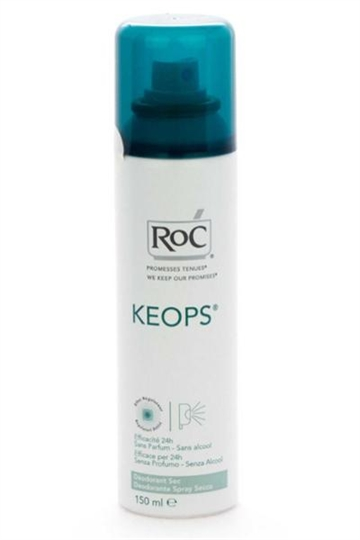RoC Keops Deodorant Spray Sec 150ml 24h Protect